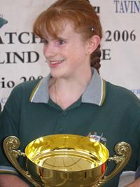 Photo 9.	Kylie Forth, winning crew in the 2006 Homerus Championships