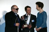 Photo 12.	Paul Borg and Don Scott were presented with their 2005 Australian Sailors of the Year with a Disability award by Her Royal Highness the Princess Royal in July 2006.